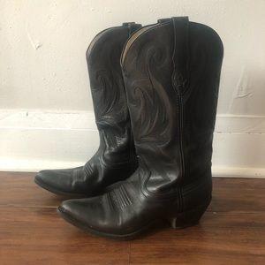 Durango Cowboy Boots 8M Western boots Black boots